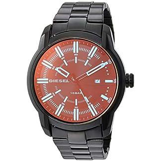 Diesel Armbar Analog Black Dial Men's Watch-DZ1870