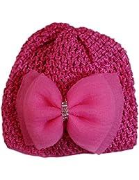 Jessidress Luxus Baby Mützen Baby Hüte Stirnbänder Haarblumen Blume Babymütze