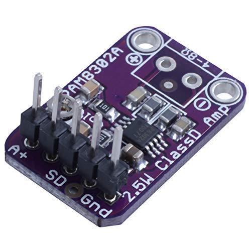 TOOGOO Pam8302 2,5 W Klasse D Mono Digital Audio Verst?rker, Endstufen Platine, Lautst?rke Einstellbar (2Er Packung) -