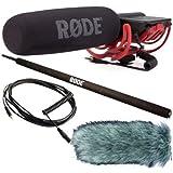 Rode Rycote Micro pour caméra avec bonnette Deadcat, manche Micro-Boom et câble VC1