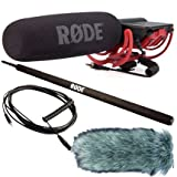 Rode Videomic Rycote + Deadcat Windschutz + Micro-Boompole + VC1 Kabel
