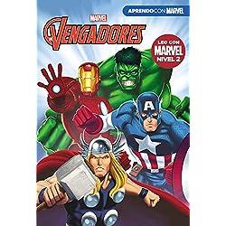 Los Vengadores (Leo con Marvel - Nivel 2): La amenaza de Thanos