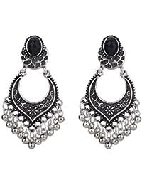 YAZILIND Bohemian vintage en alliage plaqué envie de perles à talons pendentifs boucles d'oreilles femmes filles cadeau