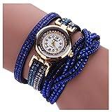 linqi1164 Uhren Damen Herren Armbanduhren für Frauen Damen Geschäft Kleid Uhr Wasserdicht Casual Analoge Quarz Uhr Luxus Armband Coole Uhren Edelstahl Mädchen Frau Uhr Damenuhr