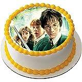 Harry Potter - Decoración comestible para tarta (19 cm), ...
