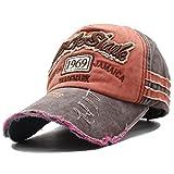 Kuyou Distressed Basecap Snapback Outdoor Baseball Kappe Mütze