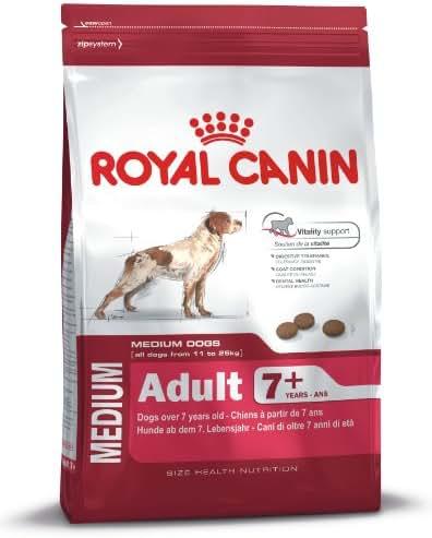 Royal Canin : Croquettes Chien + 7 Ans Poids Medium : 15 Kg