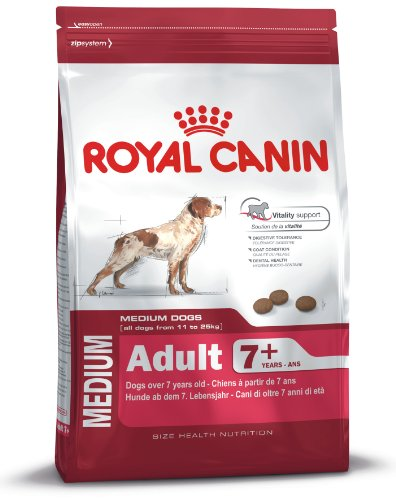 Royal Canin Medium Adult, 7+, 15 kg, 1er Pack (1 x 15...