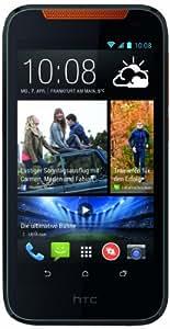 HTC Desire 310 Smartphone (11,4 cm (4,5 Zoll) FWVGA Display, Quad-Core, 1,3GHz, 1GB RAM, 5 Megapixel Kamera, Android 4.2) orange