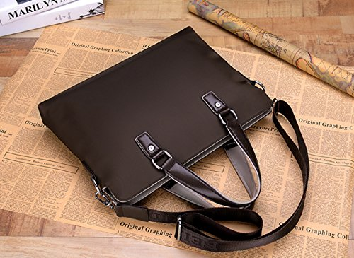 Herren Business Bag Aktentaschen Handtaschen Kupplung Freizeitpaket Jugend Querschnitt Arbeitspaket (large)Blue