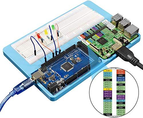 Bit V2.0 3.3V 5V 1A per Progetto di Programmazione Fai-da-Te Schermatura delladattatore Breakout della Scheda di espansione Bit con Buzzer IO MakerHawk BBC Micro