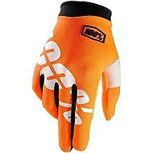 100/% Prozent ITRACK 2019 neon rot Handschuhe MTB DH MX BMX Motocross Enduro