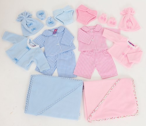 eyfs-resources-baby-doll-starter-set-6-by-frilly-lily-for-dolls-14-18-ins-35-45cm-such-as-43-cm-baby