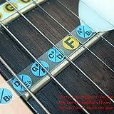 Generic LQ.. 1.. LQ.. 3214.. LQ Karte Fre Karte Bund R Hals Griffbrett Note Ker Aufkleber Etiketten Les DEC Bass Gitarre Hals fingerboar Aufkleber lernen Griffbrett NV _ 1001003214-cnuk22_ 772