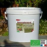 Agro Sens - Amendement organique Bio. Formule concentrée en humus. 8 kg