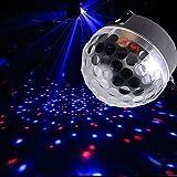 12W LED Bühnenbeleuchtung Kristalleffekt RGB Disco Majic Ball Partybeleuchtung Discokugel