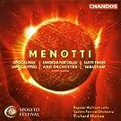 "Menotti: Fantasia/Apocalisse/""Sebastian"