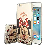 Apple iPhone 6/ 6s Étui HCN PHONE Coque silicone TPU Transparente Ultra-Fine Dessin animé jolie pour Apple iPhone 6/ 6s - Minnie Mouse