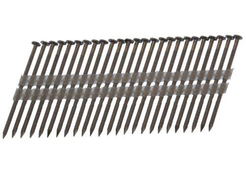 Spot Spot Nägel 2-10d120ssr 3Zoll von .120-inch 20-22Grad Kunststoff-Streifen 304Edelstahl Nägel 1.000Pro Box -