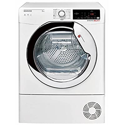 Hoover DXC8TCE-80 8kg CondenserTumble Dryer in White by Hoover