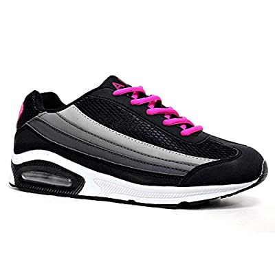 Ladies Running Trainers Air Tech Bubble Max Shock Absorbing Fitness Gym Sports Shoes Size 4 - 8