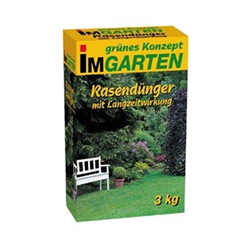 3 kg Premium Rasendünger mit Langzeitwirkung 100m² Beckmann Profi Rasen Langzeitdünger FREI HAUS
