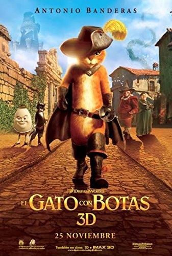 El Gato Con Botas (Blu-Ray Combo Y Copia Digital) [Blu-ray] 513drdz82nL