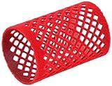 Solida Metallwickler beflockt, 40 mm, rot 12 Stück