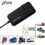 GPS Tracker, TKSTAR Auto LKW Fahrzeug GPS Ortung Echtzeit GPS Locator Mini GSM GPRS GPS Logger mit kostenlosem APP GT02A