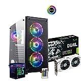 Pc gaming Intel i5 8500 Six-Core,Scheda Video MSI Gtx 1060 3Gb,Ram Ddr4 8Gb ,Ssd 240Gb, Hdd 1Tb,...