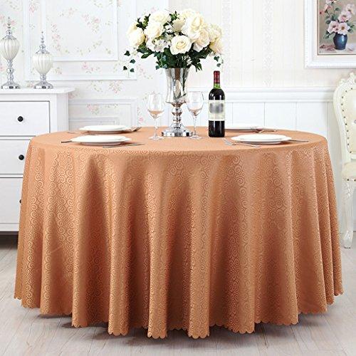 BSNOWF- Nappes Mariage Banquet Restaurant Ronde Nappe Table Ronde Tissu Rectangle Table À Manger Nappe Peut être Personnalisé Taille En Option ( taille : Round-220cm )