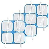 TensCare Elektroden Blue Gel E-696SS-4, hypoallergen, 3x 4Stück