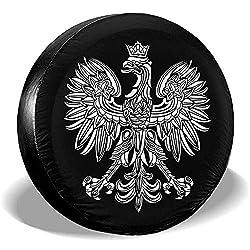 Dem Boswell Polska Eagle Poland Pride Reserveradabdeckung Wasserdicht Staubdicht Universal Reserveradabdeckung 15 Zoll