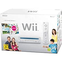 "Nintendo Wii ""Family Edition"" - Konsole inkl. Wii Sports + Wii Party, weiß"