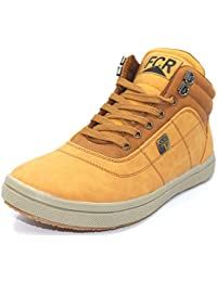 FCR Casual Men's New Fashion Brown Biscuit Color Sneakers