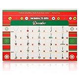 Advent Calendar ,24 Day Advent Calendar for Christmas with Christmas Fashion Jewellery