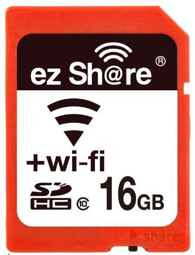 EZ Share, SD-Speicherkarte mit WLAN, 8GB, Klasse 10 2. Generation