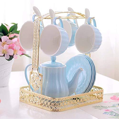 Creative Ceramic café Soucoupe thé café Les après - midi de Tasse Fleur théière Tasse de café m