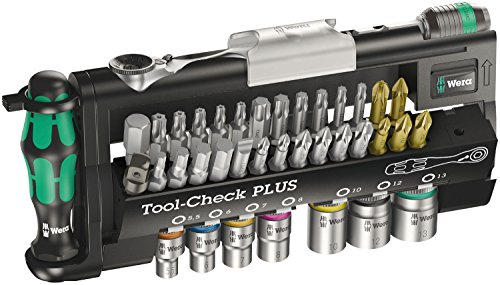 Wera Bit-Sortiment, Tool-Check PLUS, 39-teilig, 05056490001 -
