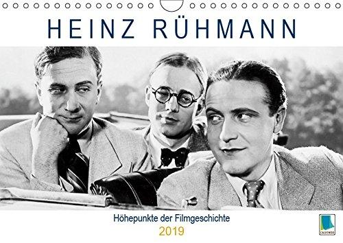 Heinz Rühmann: Höhepunkte der Filmgeschichte (Wandkalender 2019 DIN A4 quer): Heinz Rühmann: Es war einmal ... (Geburtstagskalender, 14 Seiten ) (CALVENDO Kunst)