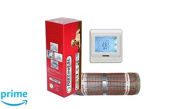 560 Watt PREMIUM Fu/ßbodenheizung elektrisch Fliese Bad Heizmatte Thermostat 3,5 m/²