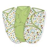 SwaddleMe ** 3er SparPack - Original Swaddle ** Pucksack/Schlafsack für unruhige Babys und Schreibabys (ABC)
