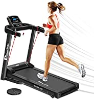 PowerMax Fitness TDM-99 (4HP Peak) Motorized Treadmill with Free Installation, 3 Years Motor Warranty, Home Us