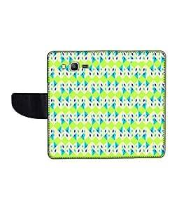 KolorEdge Printed Flip Cover For Samsung Galaxy Grand Prime Multicolor -(50KeMLogo12261SamS530)