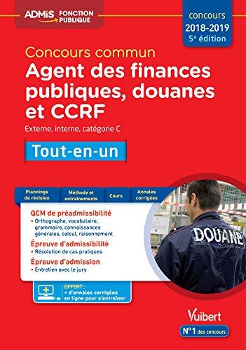 Concours commun Agent des finances publiques, douanes et CCRF : Tout-en-un