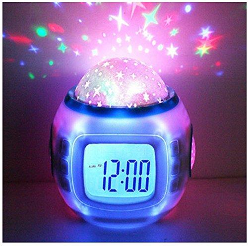 Hangang Despertador Infantil Dormir Reloj Cambio De