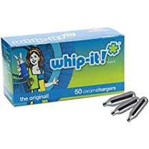 Whip-it/ICO CR050 50 cartouches 8 g de N2O compatibles avec siphons MASTRAD, KAYSER, ISI, CAFÉ CRÈME, ICO, MOSA