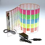 Auto-Aufkleber Musik Rhythm LED-Blitz-Licht-Lampe Sound aktiviert Equalizer