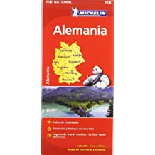 Alemania. Mapa national718 (Mapas National Michelin)