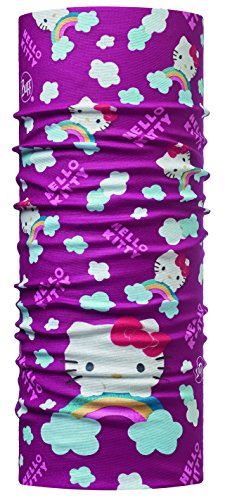 (Buff Kinder Original Hello Kitty Multifunktionstuch, Rainbow Purple, One Size)